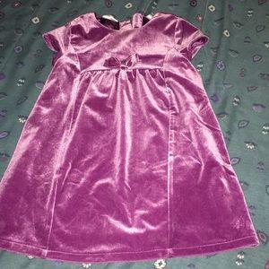 Cute velvet dress